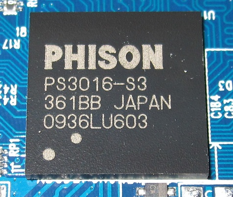 Phison Controller in the Patriot PS-100