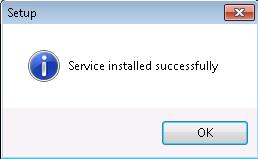 AutoExit Client Setup 3 Service Installed