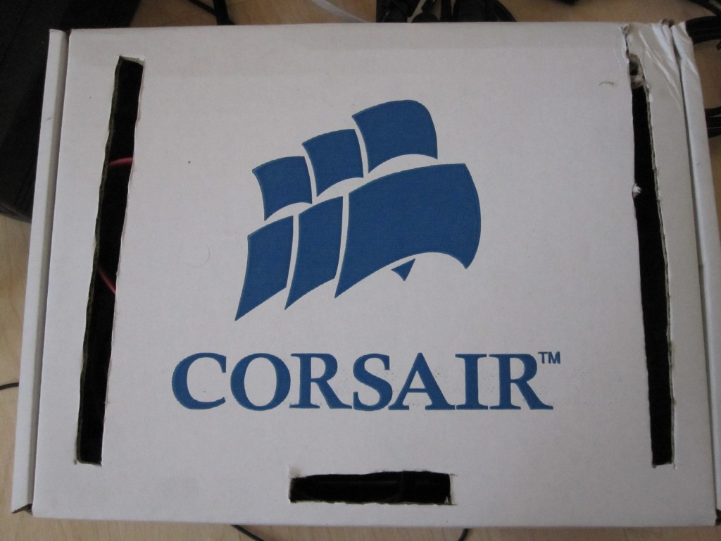 Sempron 140 WHS - In a Corsair Cardboard Box