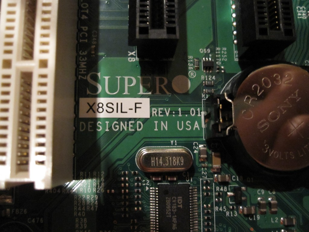 X8SIL-F Rev: 1.01 Identification