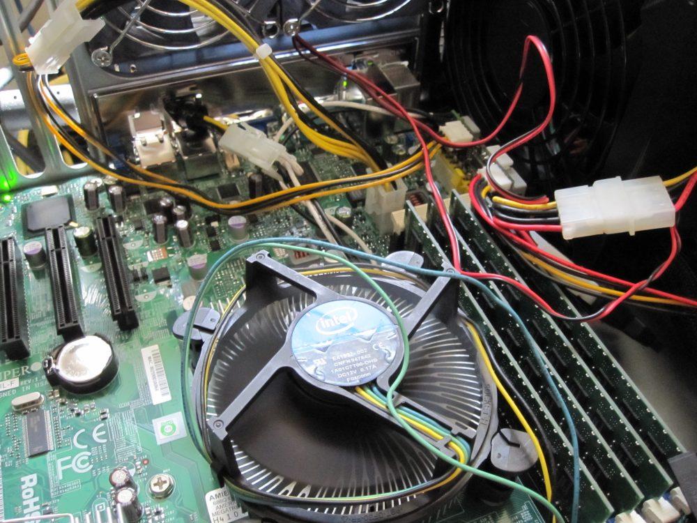 PicoPSU Powering X8SIL-F Server Motherboard