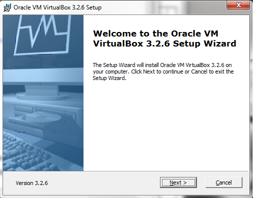 Run VirtualBox Installation Wizard