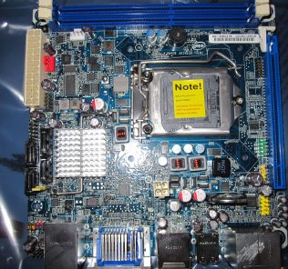 Intel BOXDH57JG Motherboard Layout