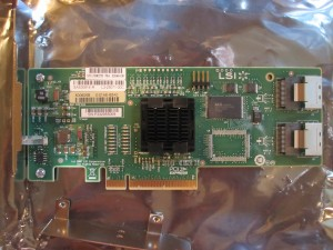 Intel SASUC8I and LSI SAS3081E-R