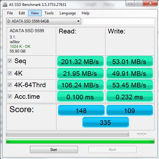 ADATA S599 Treiber Windows 7