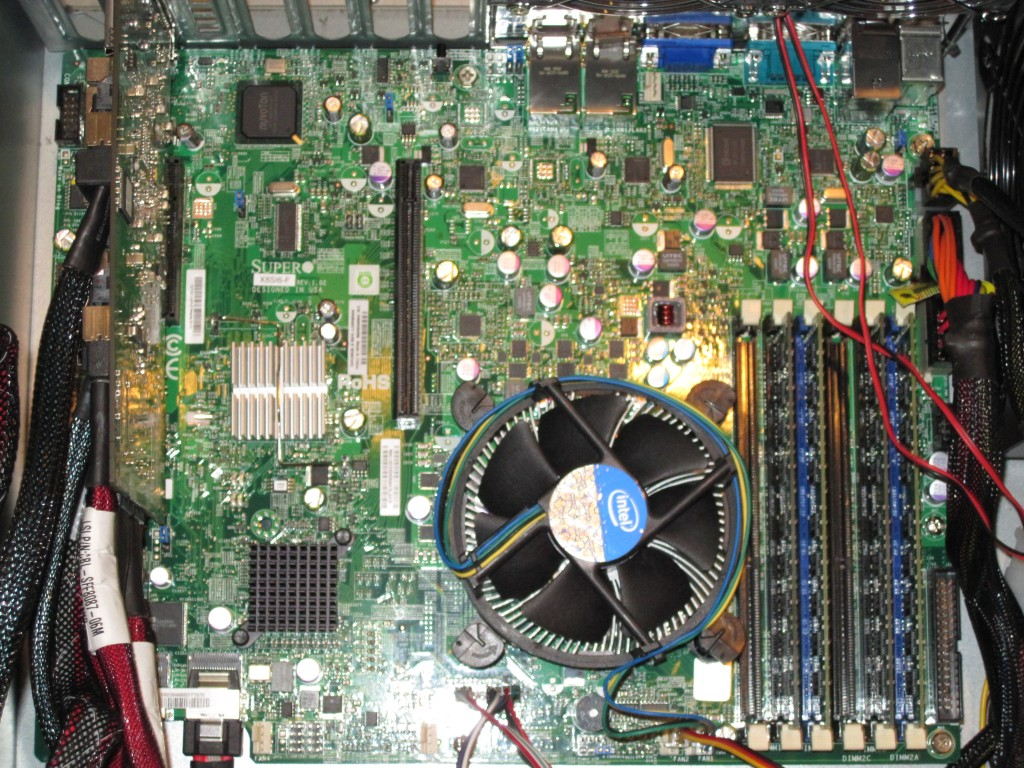Supermicro X8SI6-F with HP SAS Expander