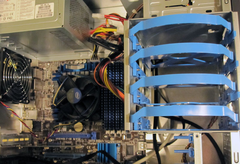 Supermicro SC-731i-300B drive trays 1