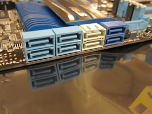 ASUS P8P67-Pro SATA Ports