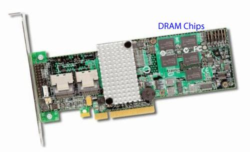 LSI 9260-8i DRAM Chips