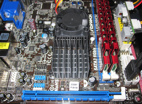 ASRock E350M1 Complete System