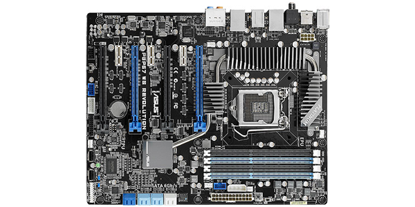 ASUS P8P67 WS Overview