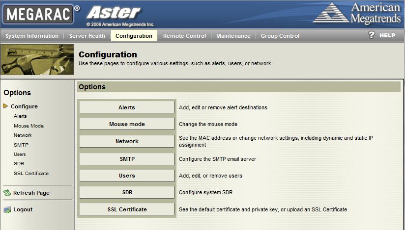 Tyan IPMI WebGUI Configuration