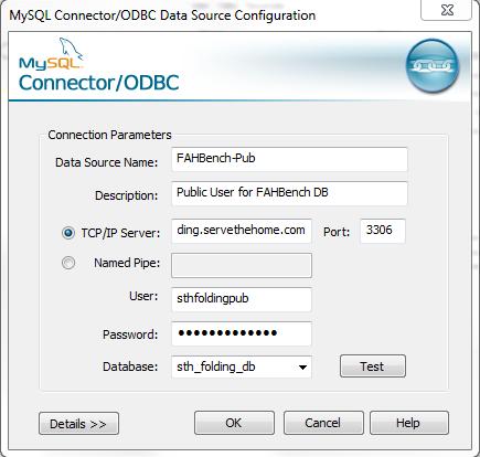 Enter MySQL Information