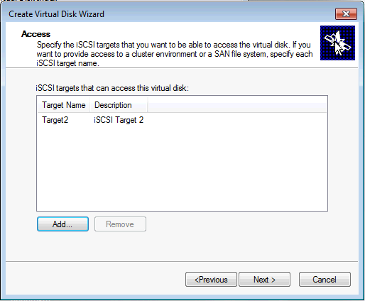 Installing Microsoft iSCSI Target - Attach VHD to Target