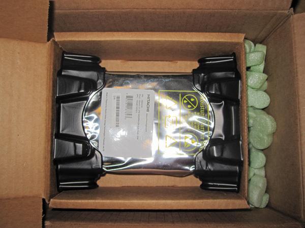 Newegg Single Hard Drive Packaging - May 2011 Proper Inner Box