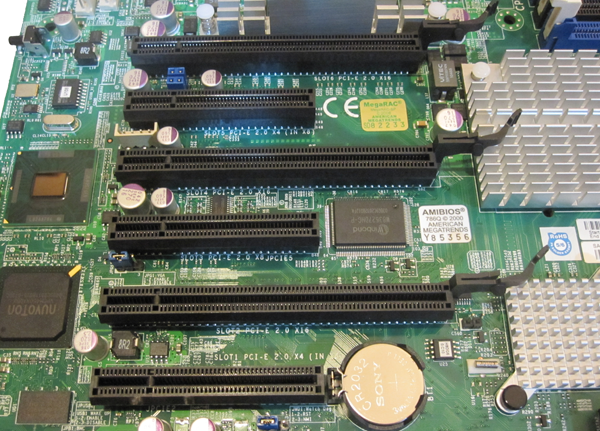 Supermicro H8DG6-F Expansion Slots