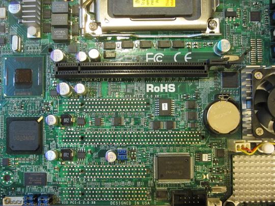 Supermicro H8QGi+-F PCIe x16 slot