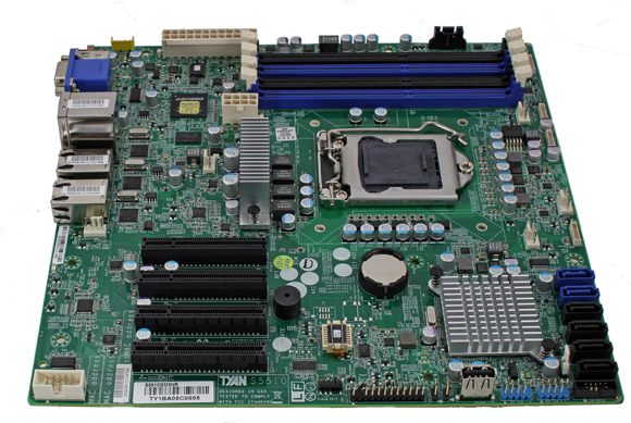 Tyan S5510 Board Overview