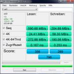 AS SSD Intel P55 RAID 0