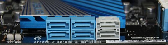 ASUS P9X79 SATA Ports