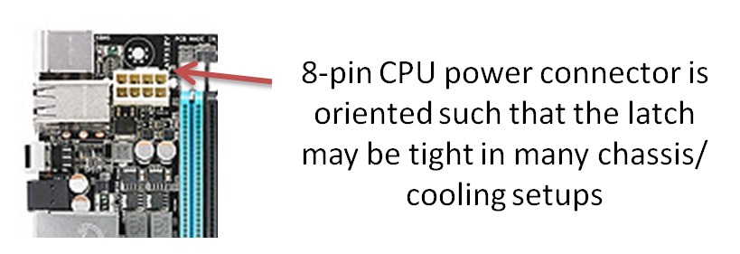 ASUS P9X79 WS 8-pin Power Connector