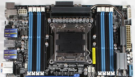 ASUS P9X79 WS CPU Socket