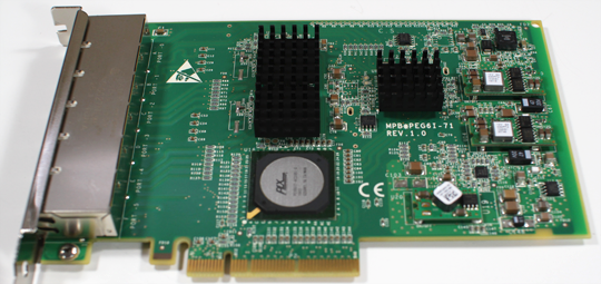 Dell Silicom PEG6I Card Overview