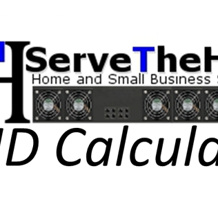 RAID Calculator | ServeTheHome