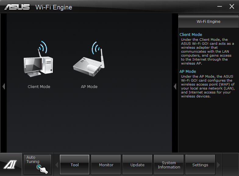 ASUS P8Z77-I WiFi Engine