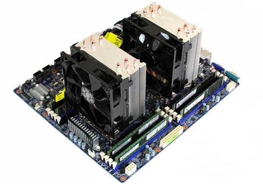 Dual Cooler Master Hyper 212 EVO