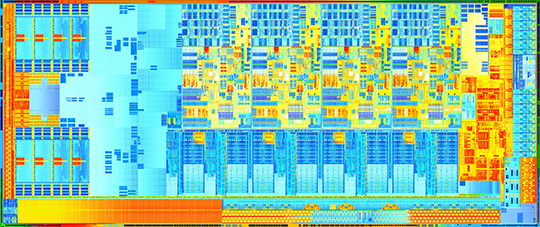 Intel Ivy Bridge Die Shot