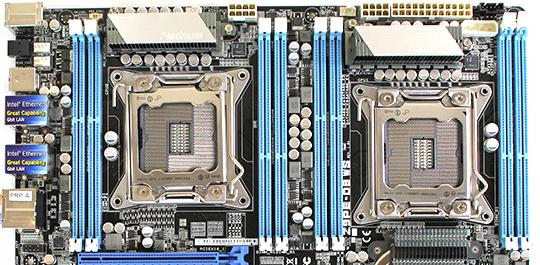 ASUS Z9PE-D8 WS CPU Sockets