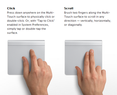 Apple Magic Trackpad Working Windows 7 Gestures