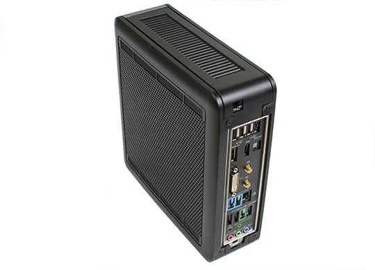 Antec ISK-110 VESA Rear View