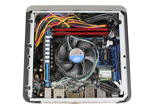 Antec ISK-110 with ASUS P8Z77-I Deluxe