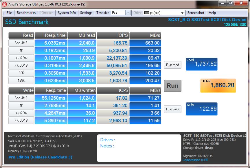 Mellanox MHEA28-XTC Infiniband SSD RAID 0 Anvil Storage Utilities
