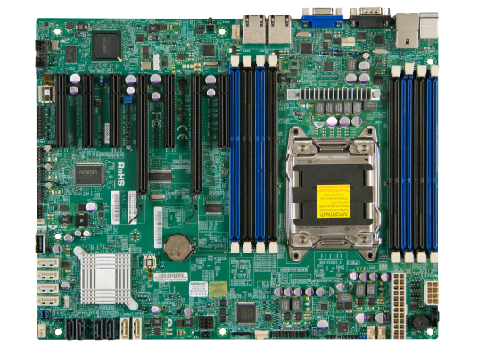 New Supermicro X9SRL-F motherboard
