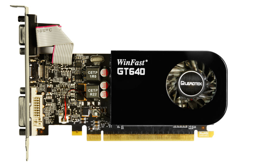 Leadtek Winfast GT 640 Server GPU Low Profile | Servethehome Preview