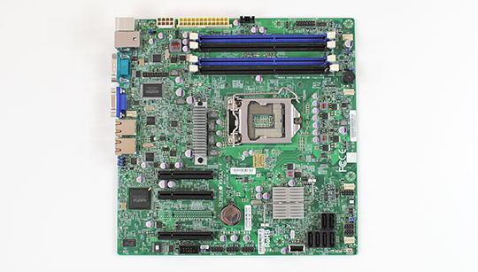 Supermicro X9SCL-F Overview