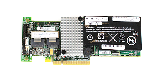 IBM ServeRAID M5014 BBU Overview