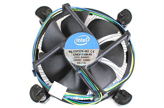 Intel Core i3 and Pentium Ivy Bridge LGA 1155 Retail Heatsink Fan Top