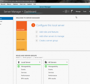 Windows Server 2012 - Turn on GUI - Installation Successful