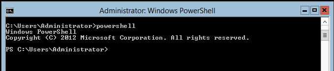Windows Server 2012 - Turn on GUI - PowerShell
