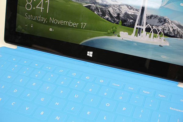 Microsoft Surface Touch Keyboard Issue Afar