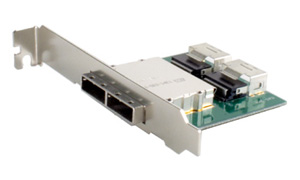SFF-8088 to SFF-8087 PCI Adapter Bracket