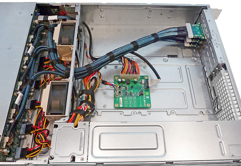 jbod chassis fully wired