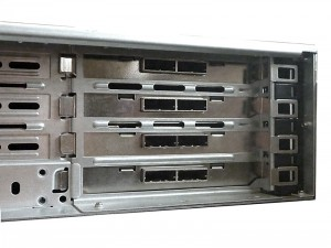 Rear View of Disk Chassis with SFF-8088 Ports