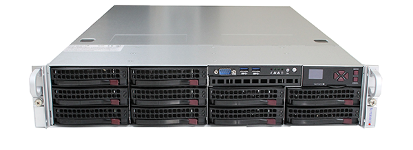 Supermicro Hyper-Speed 6027AX-TRF Front Straight