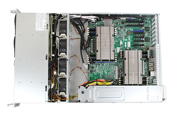 Supermicro Hyper-Speed 6027AX-TRF Internal Top No Shroud