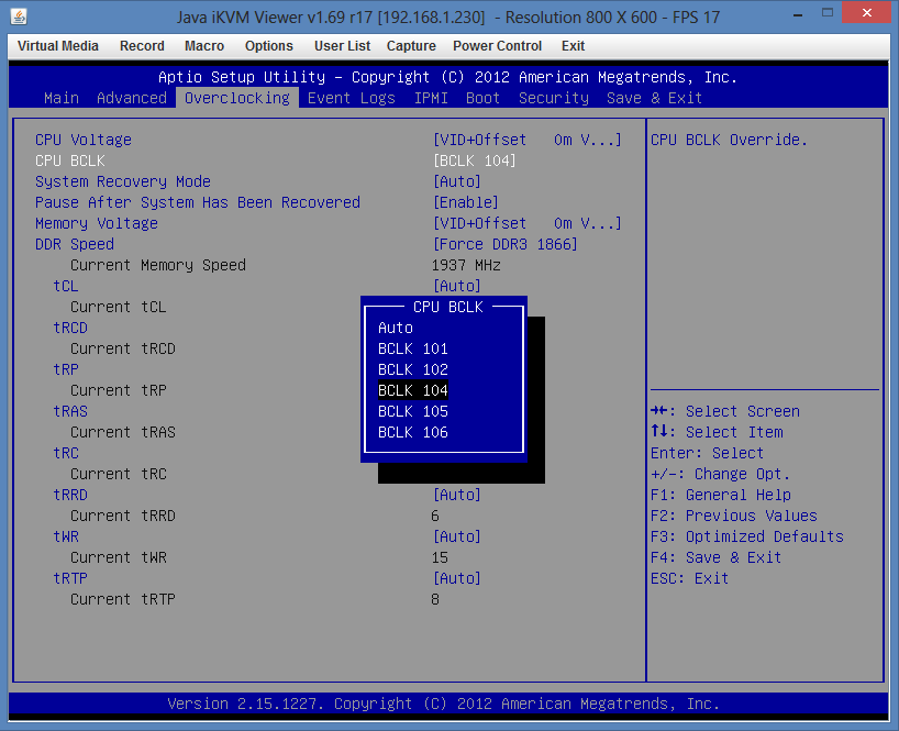 Supermicro Hyper-Speed Overclocking BIOS BCLK